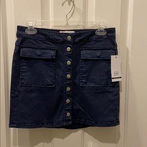 Ashley Mason Navy Small skirt